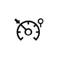 Kontrolllampen Tempomat (Begrenzer-Funktion)..