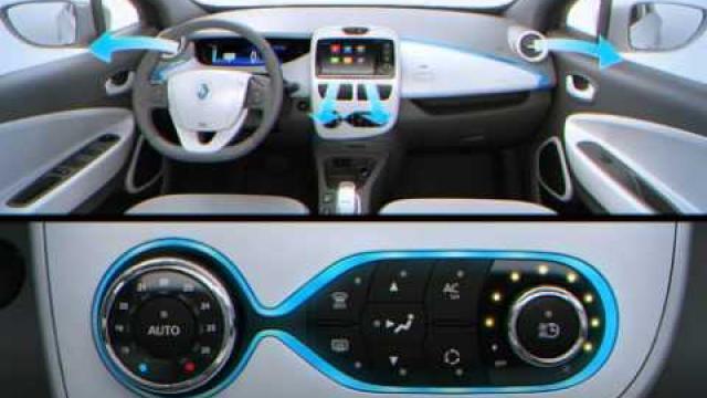 ZOE - CLIO : Klimaanlage mit Regelautomatik