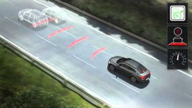 Fahrgeschwindigkeitsregler mit Abstandregelung