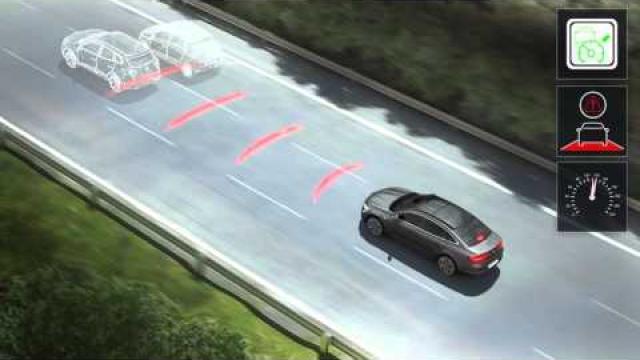 Fahrgeschwindigkeitsregler mit Abstandsregelung